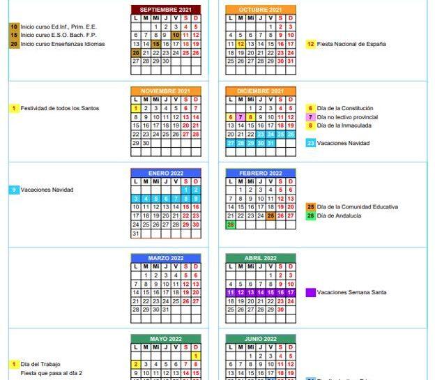 Protegido: Calendario Festivos Escuela Infantil Almadrabillas